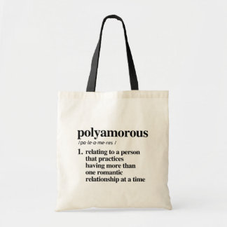 Bolsa Tote Definição de Polyamorous - termos definidos de