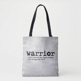 Bolsa Tote Definição do guerreiro