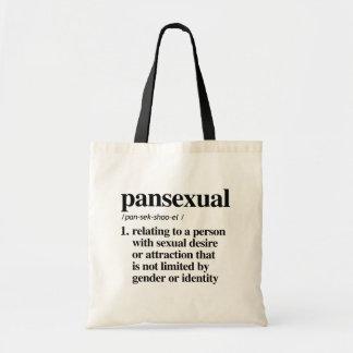 Bolsa Tote Definição Pansexual - termos definidos de LGBTQ -