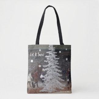 Bolsa Tote Deixais lhe para nevar