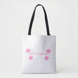 Bolsa Tote Deixe a flor do amor