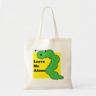 Bolsa Tote Deixe-me sozinho - saco