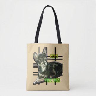 Bolsa Tote Deixe-nos saco de Cha Cha