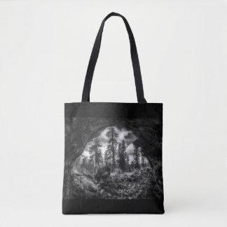 Bolsa Tote Dentro - para fora de uma sacola do tubo de lava