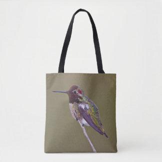Bolsa Tote Descanso do colibri