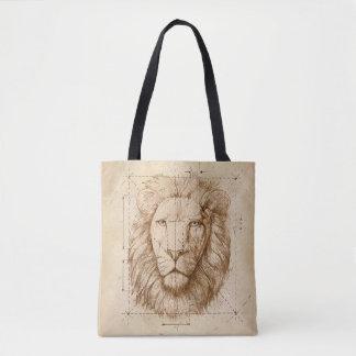 Bolsa Tote Desenho do leão