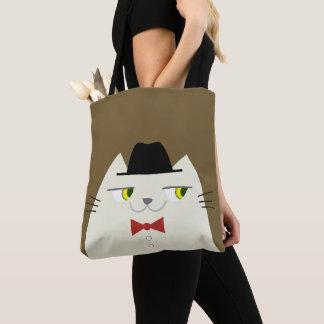 Bolsa Tote Desenhos animados à moda verdadeiros dândi do
