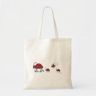 Bolsa Tote Desenhos animados da formação do joaninha