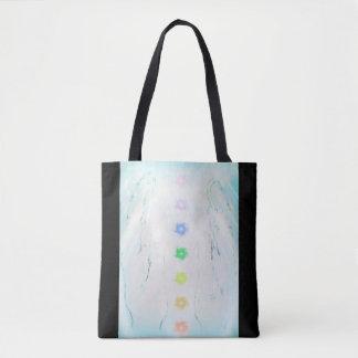 Bolsa Tote Design cura das mãos de Reiki