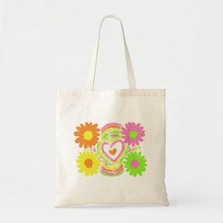 Bolsa Tote Design da flor
