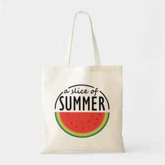 Bolsa Tote Design da melancia com frase atrativa