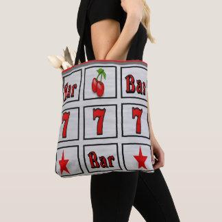 Bolsa Tote Design de slot machine do casino de Las Vegas com