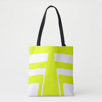 Bolsa Tote Design do abstrato da luz solar