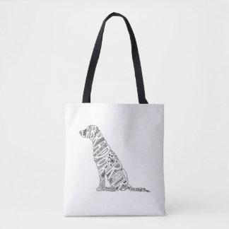 Bolsa Tote Design do Doodle de labrador retriever