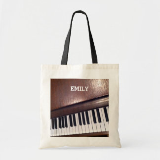 Bolsa Tote design do piano