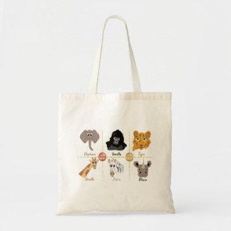 Bolsa Tote Design dos animais selvagens