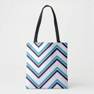 "Bolsa Tote Design geométrico do ""ziguezague"" -"