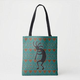 Bolsa Tote Design Kokopelli do sudoeste tribal