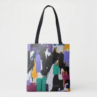 Bolsa Tote Design original do saco colorido moderno - é hoje