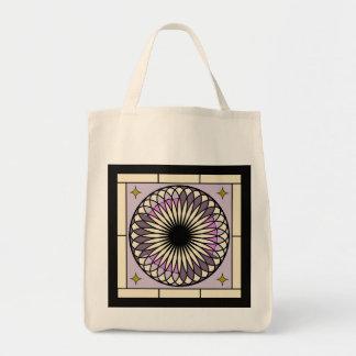 Bolsa Tote Design roxo espiral de Deco