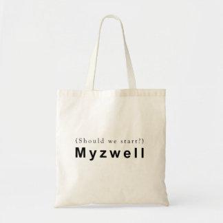 Bolsa Tote Devemos nós começar? Myzwell.