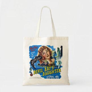 Bolsa Tote Devil Bat's Daughter, vintage horror movie poster