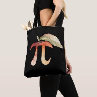 Bolsa Tote Dia do Pi, símbolo Pi, torta de Apple. Humor da
