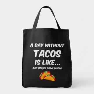 Bolsa Tote Dia sem Tacos