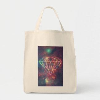 Bolsa Tote Diamond Sky Galaxy