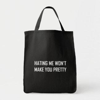 Bolsa Tote Diar-me não lhe fará engraçado bonito