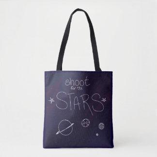 Bolsa Tote Dispare para a sacola das estrelas