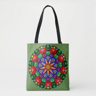 Bolsa Tote ~ do design do espírito do Natal