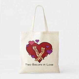 Bolsa Tote Dois bacon no amor