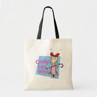 Bolsa Tote Dr. Seuss | Cindy-Lou que - bastão de doces