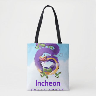 Bolsa Tote Dragão de Incheon Coreia do Sul