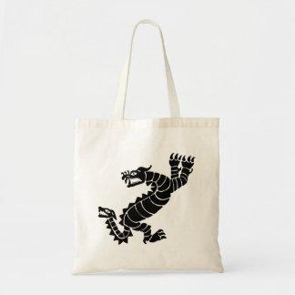 Bolsa Tote Dragão peruano