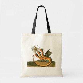 Bolsa Tote Dragões da alquimia de Clavis Artis