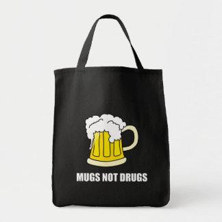 Bolsa Tote Drogas das canecas não