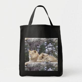 Bolsa Tote Duo do leão