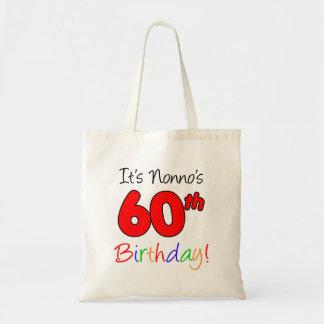 Bolsa Tote É divertimento do aniversário de Nonno 60th e o