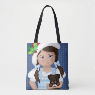 Bolsa Tote E seu cão pequeno demasiado!  Dorothy