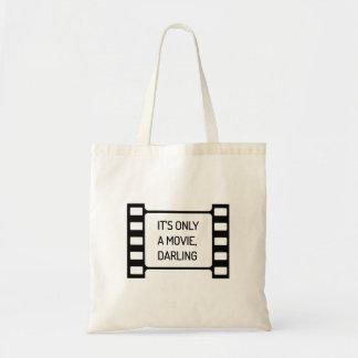 Bolsa Tote É somente um filme, querido. Filme preto e branco
