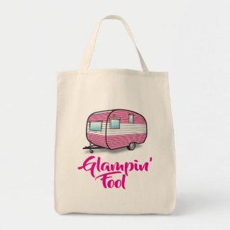 Bolsa Tote É uma sacola do tolo de Glampin