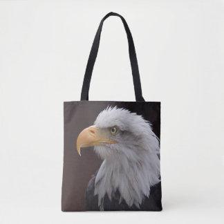 Bolsa Tote Eagle orgulhoso por todo o lado no saco do