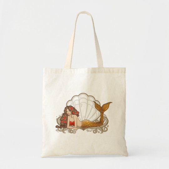 Bolsa Tote Ecobag de Sereia
