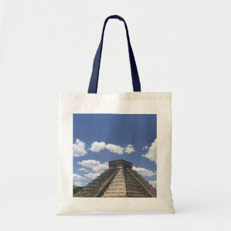 Bolsa Tote EL Castillo - Chichen Itza, sacola de México