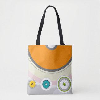 Bolsa Tote Elegant bag with color circles