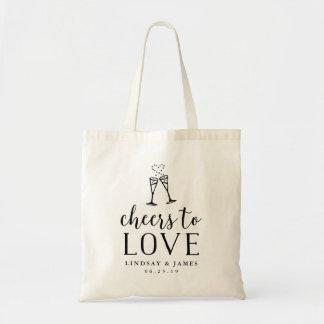 Bolsa Tote Elogios para amar Wedding o favor