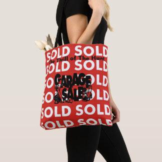 Bolsa Tote Emoção vendida vermelha da venda de garagem da