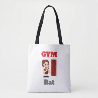 Bolsa Tote Emoji do rato do Gym